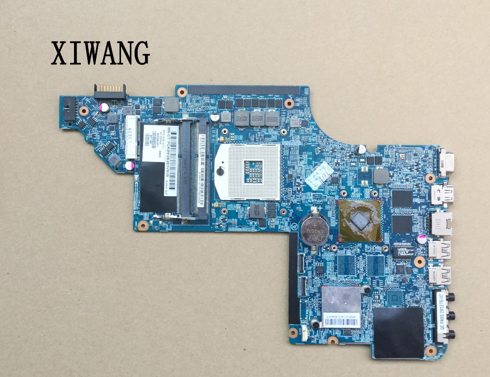 laptop Motherboard For hp Pavilion DV6-6000 665346-001 for with HM65 HD6750/1G non-integrated graphic Free shippinglaptop Motherboard For hp Pavilion DV6-6000 665346-001 for with HM65 HD6750/1G non-integrated graphic Free shipping