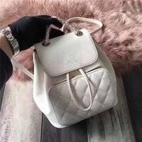 BEST1116 Fashionable Luxury Backpack Simple Portable Folding Europe Designer Backpack Famous Brand Runway Luggage Bag