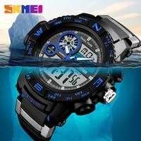 Mens Watches SKMEI Brand New S Shock Sport Watches Big Dial LED Digital Quartz Wristwatches 50M