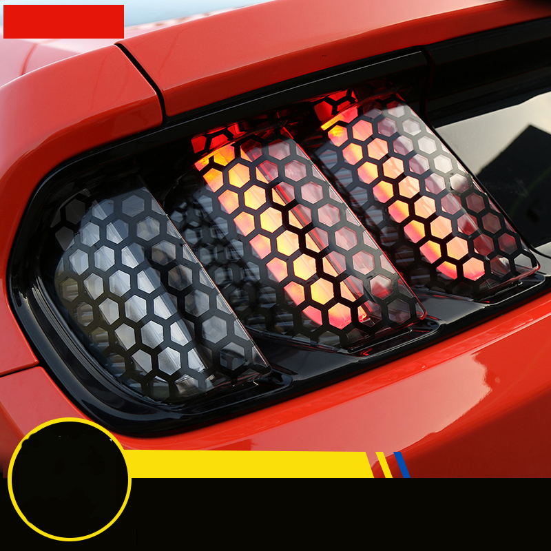 lsrtw2017 car tailight sticker for ford mustang 2015 2016 2017 2018 2019 6th generation