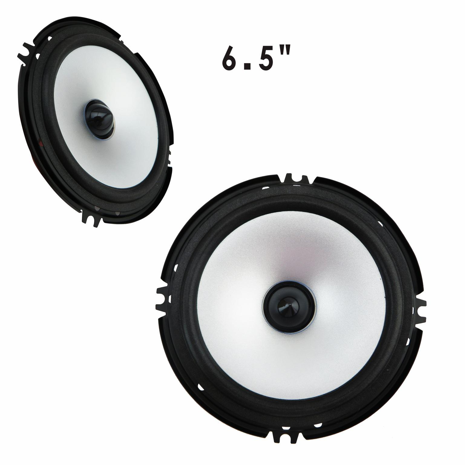 2017 Hot Sale 6.5 Inches Speakers For Auto Music Sensitivity Car Audio Speakers Full-range Full-range Car Horn Audio System 2017 hot bluetooth multi function audio intelligent family host background music system lcd screen touch light dimmer 2 speakers