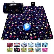 200*200 см пляжный коврик, одеяло для улицы, Пляжная подушка для кемпинга, многопользовательский складной детский плед, водонепроницаемый коврик для пикника, песка, свободный коврик