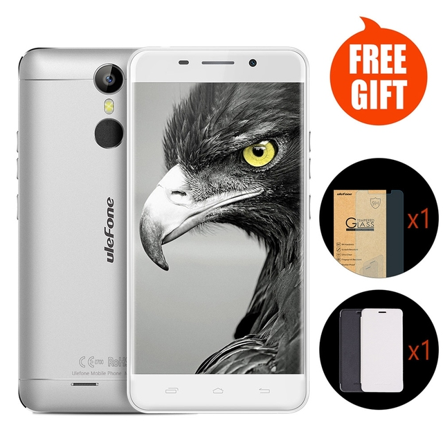 Original Ulefone Metal Android 6.0 5.0 inch 4G Smartphone MTK6753 Octa Core 1.3GHz 3GB 16GB Fingerprint ID Dual SIM