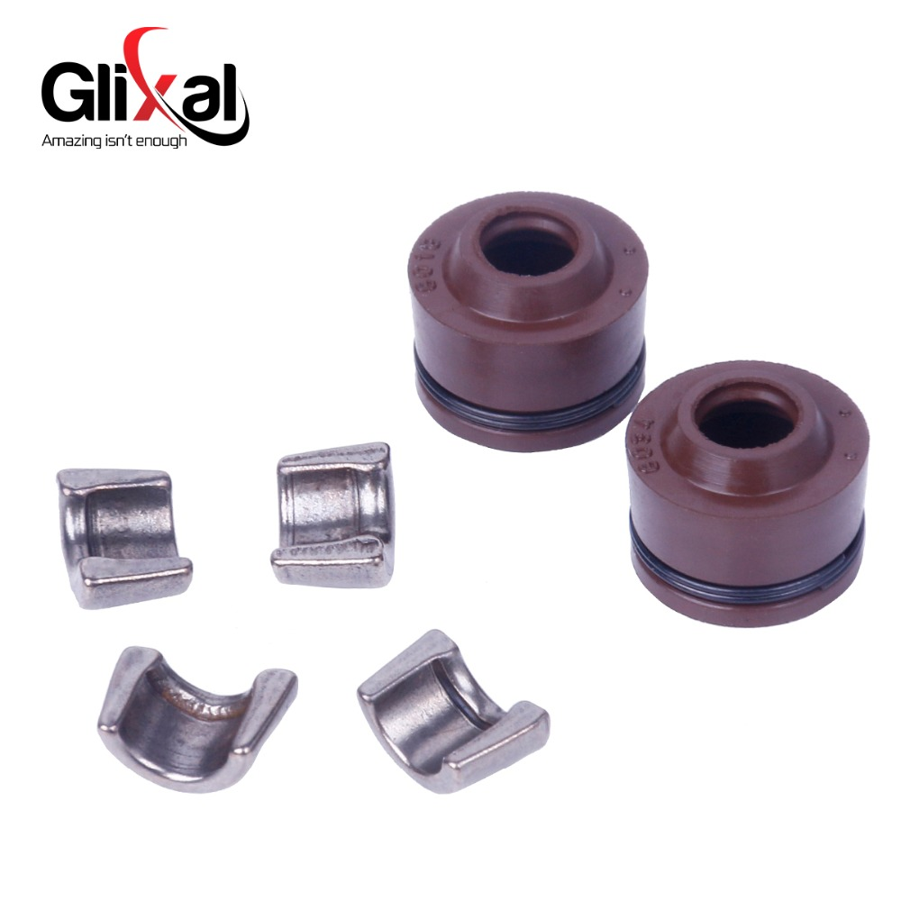 Glixal 152qmi 125cc Gy6 Engine Intake Exhaust Valves Set Valve Kit 134 Diagram With Spring Assembly In Engines From Automobiles Motorcycles On