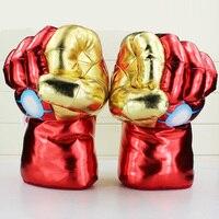 New Arrivals Cosplay Incredible Iron Man Smash Hands Plush Gloves Đồ Chơi Sang Trọng