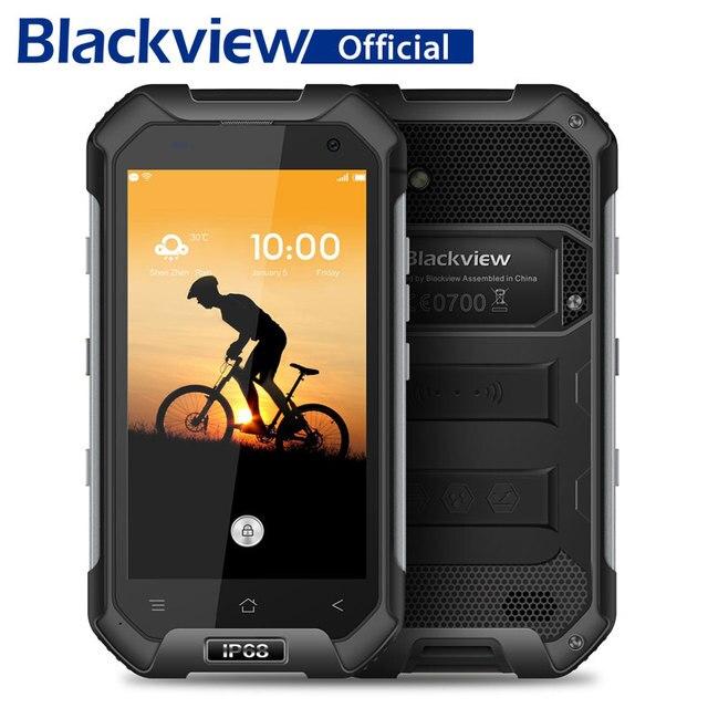 Blackview bv6000 смартфон IP68 Водонепроницаемый mtk6755 Octa core 3 г Оперативная память 32 г Встроенная память 13.0mp мобильный телефон 4.7 дюймов Экран 4 г сотовый телефон