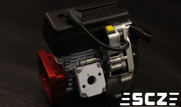 SCZ Raing 28.5CC 9HP Reed Engine for 1/5 Scale Car Baja Losi 5ive T MCD baja rc reed valve system for cy zenoah engine