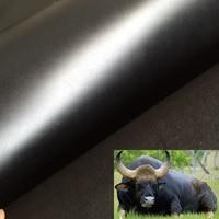 Good Black Genuine Cow Skin Leather Fabric Cow Skin Fabric Real Cowskin Leather Sewing Material Diy
