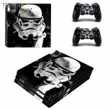Star Wars Vinyl Skin Sticker Voor Sony PS4 Pro Console En 2 Controllers Sticker Cover Game Accessoires