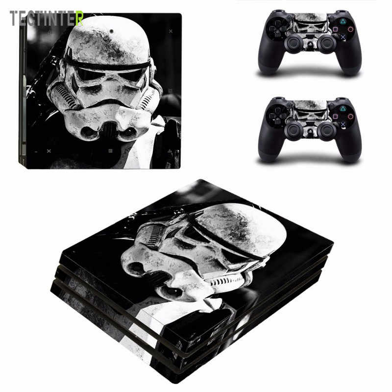 Star Wars Vinyl Skin Sticker for Sony PS4 Pro Console and 2 Controllers Decal Cover Game Accessories