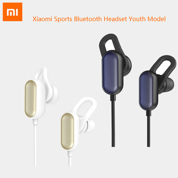 Original Xiaomi Sports Bluetooth Headset Youth Model Mi Earphone Wireless Headphone Mic Headphones Waterproof Handsfree Earbuds