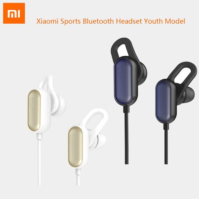 Original Xiaomi Sports Bluetooth Headset Youth Model Mi Earphone Wireless Headphone Mic Headphones Waterproof Handsfree Earbuds