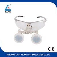 משקפיים עם מגדלת משלוח חינם-1set מיקרוכירורגיה מגדלת כירורגי 2.5X