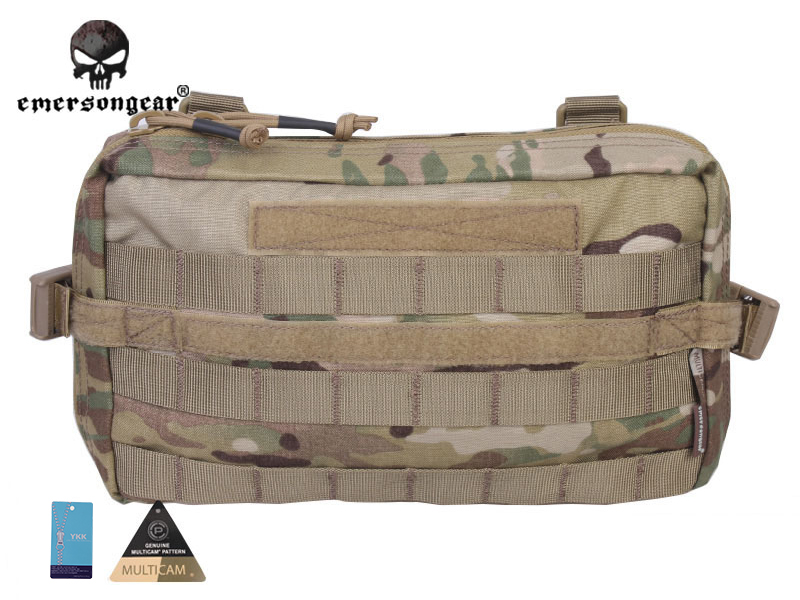 Emersongear Fight Utility Pouch Multi-functional Emerson Molle Military Nylon Waist Bag Combat Gear EM8347 Multicam molle military combat slr camera bag multi functional army combat single shoulder messenger bag made of cordura nylon 1000d