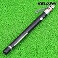 KELUSHI 5 mW Metal Pen Estilo Localizador Visual de Fallos De Fibra Óptica Cable Tester Herramienta de Prueba de Láser Rojo con 2.5mm Conector Universal