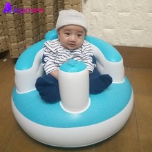 купить High Quality 50x50cm Multifunctional Baby Inflatable Chair Learning To Sit Support Seat Sofa Travel Car Seat Toys Dropshipping по цене 861.94 рублей