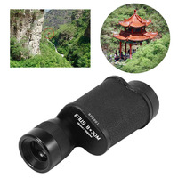 8X30 Hunting Metal Monocular Telescope Time High Definition Outdoor Pocket Size Telescope Support LLL Night Vision