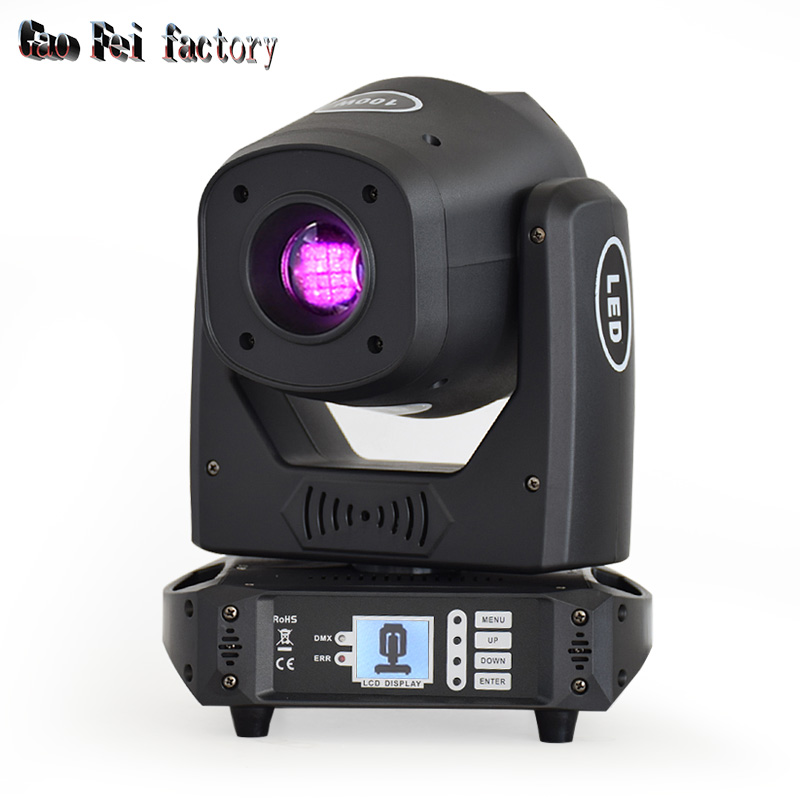 Focus Moving Head Led 100W Sport Light With Gobo Color And Prism Stage Light Effect  For DJ Event