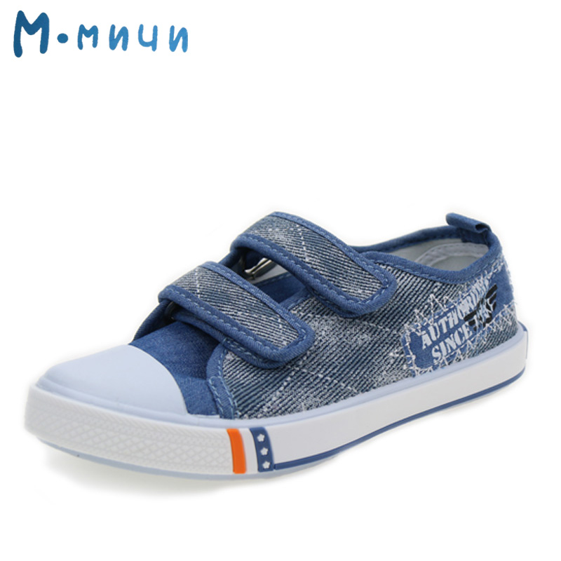 M.MNUN 2016 New Arrival Children Shoes Boys Shoes Kids Shoes Sport Shoes for Boys Casual Canvas Child Sneakers Children Footwear