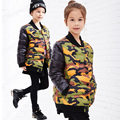 Girl Camouflage Jacket Children's winter Jacket Parka Girl Jacket Winter Coat Short Sections Snowsuit Kid Girl Winter Outerwear