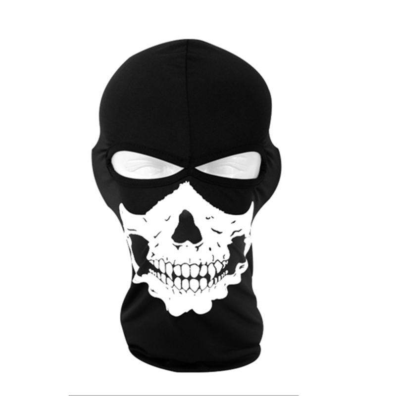 Ghost Skull Full Face Mask Cosplay Balaclava Paintball CS Hood WarGame Airsoft Hunting Army Tactical Masks chief sw2104 skull style full face mask for war game cs black