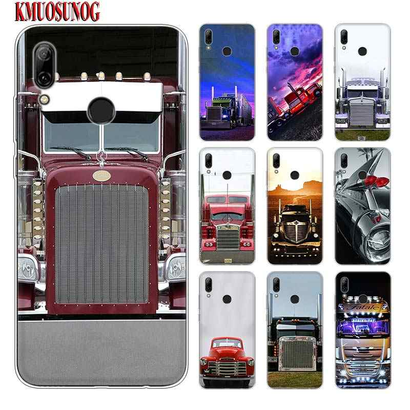 Silicone Phone Case Greatest Trucks for huawei P30 Lite P Smart Honor 7A 8 8A 8C 8X 10i Y5 Y6 Y7 Y9 Pro 2019 2018 2017