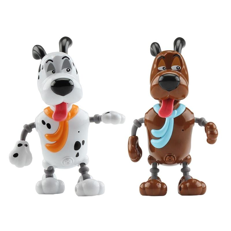 Kids Plastic Electronic Smart Pet Dog Toy Children Bluetooth Speaker Voice Sound Control Interaction Animals Model Play Toys