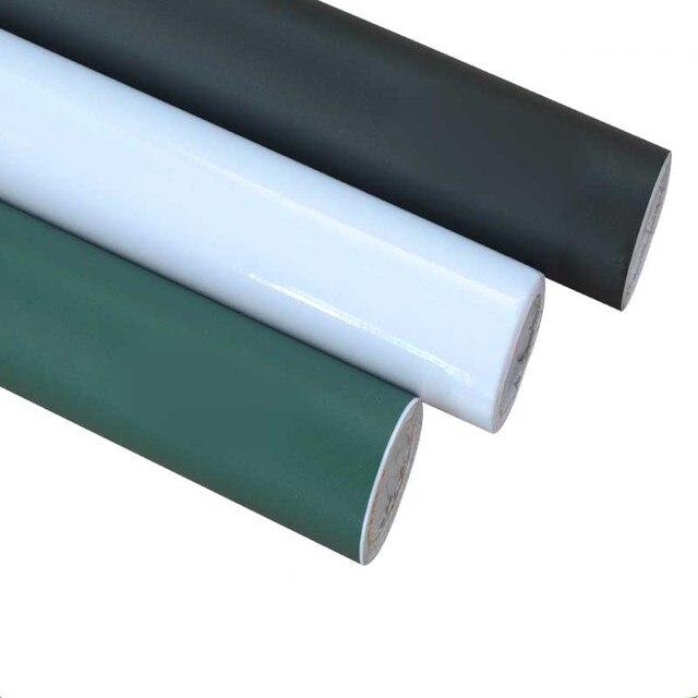 Creative bricolage tableau de craie noir blanc vert tableau noir PVC ...