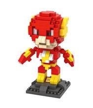 LOZ 9453 DC Heroes Flash Educational Kids Figure Toy Diamond Bricks Minifigures Building Block Compatible with Legoe