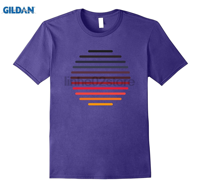 GILDAN Vintage Shirt Sunset Summer Beach Sun Eclipse T-shirt summer dress T-shirt