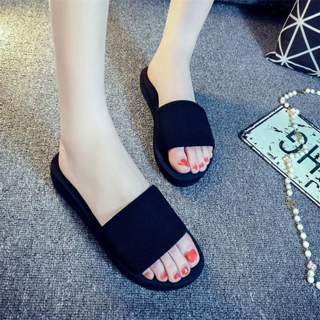 d1fb5021f Sleeper  4002 Fashion Women Summer Sandals Slipper Indoor Outdoor Flip-flops  Beach Shoes