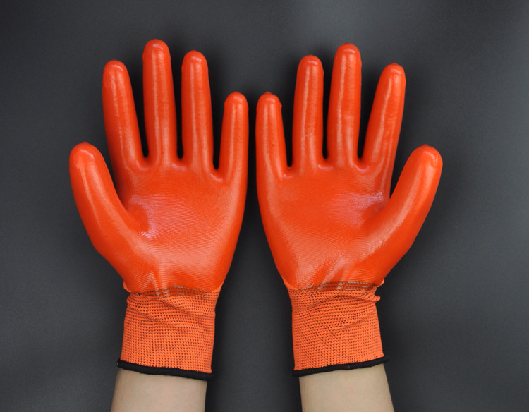 Gratis frakt superbillig 12 par Syre Alkali Resistent Arbeidshansker, - Sikkerhet og beskyttelse - Bilde 1