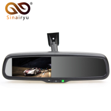 Sinairyu 4.3″ TFT LCD Car Windscreen Interior Mirrors Rearview Mirror Monitor with Original Bracket For Kia Hyundai Ford VW