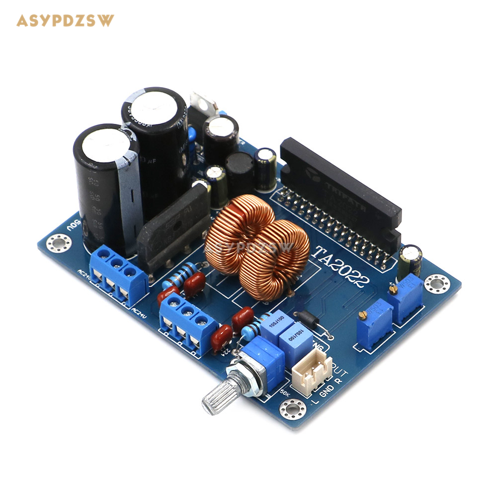 NEW TA2022 Stereo Class D Power amplifier board 90W+90W (F) same LM3886