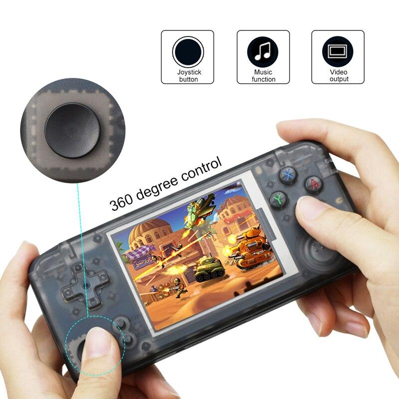 Jogo Handheld Console de 3.0 Polegada 16G ROM Embutido 3000 + Diferentes Jogos Console Suporte Para NEOGEO/GBC/ FC/CP1/CP2/GB/GBA