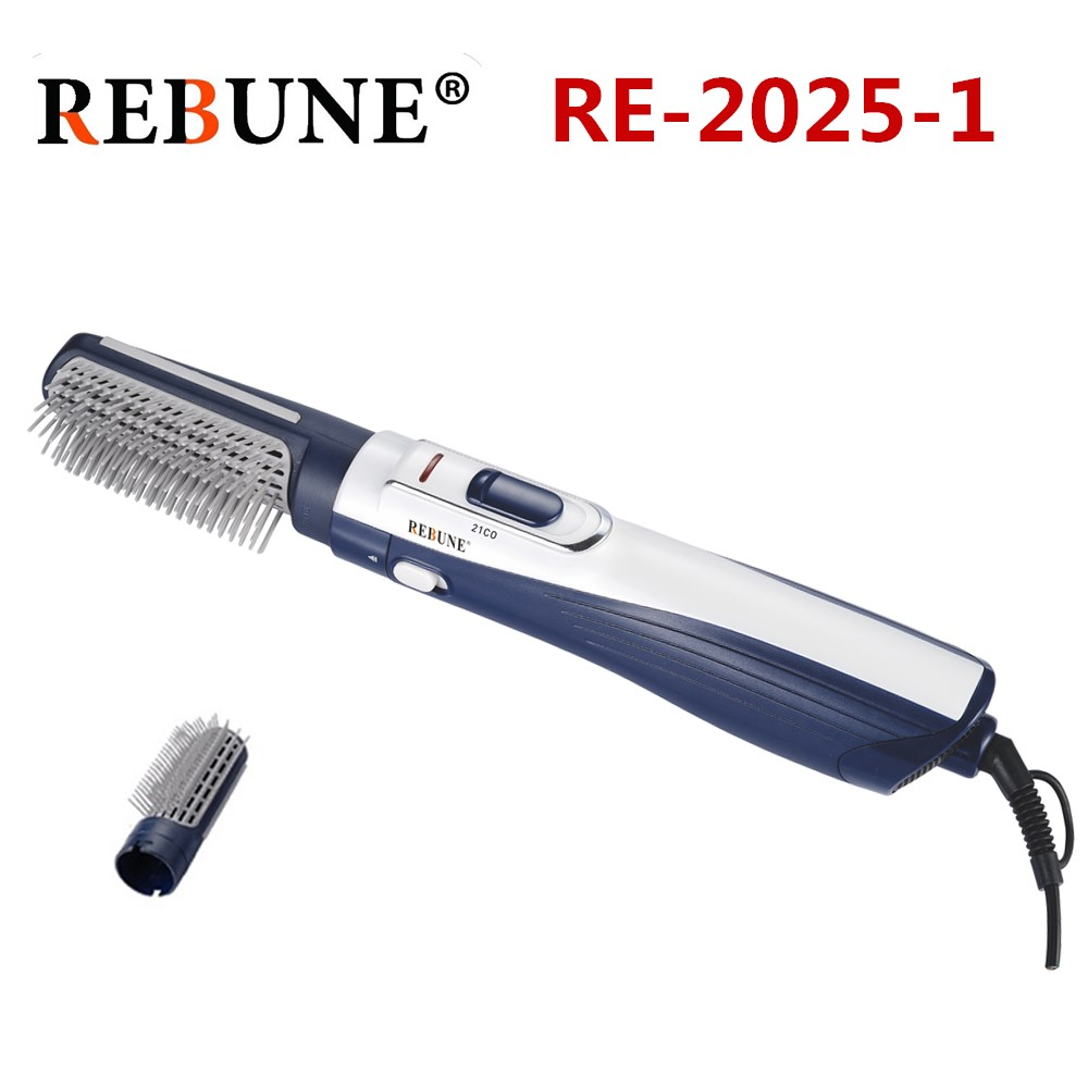 REBUNE New Styling Tools Powerful Multifunctional Hair Dryer Hair Brush Roller Styler 220V (1 box 12Pcs)-in Curling Irons from Home Appliances