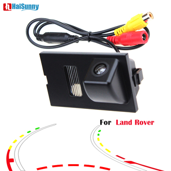HaiSunny Intelligent Dynamic Trajectory Car Rear View Camera For Land Rover Freelander 2 Discovery 3 4 Range Rover Sport