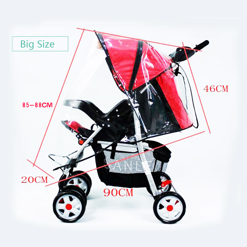 Waterproof Raincover For Stroller Prams Cart Dust Rain Cover Raincoat For Baby Stroller Pushchairs Accessories Baby Carriages Activity & Gear