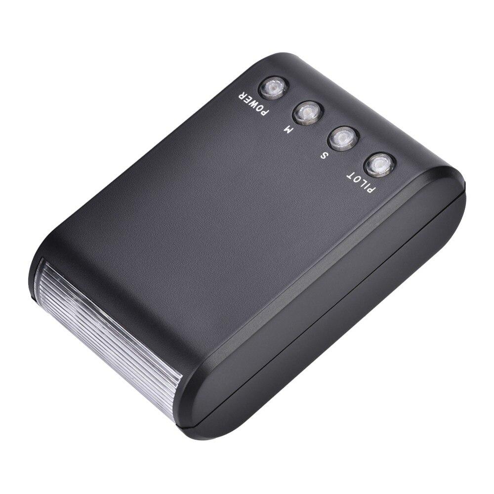 Mini Portable Digital On-Camera Hot Shoe Mount Flashlight for DSLR Cameras New