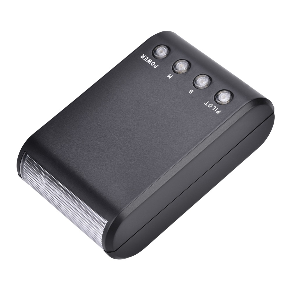 Mini Portable Numérique Sur-Caméra Hot Shoe Mont Lampe de Poche pour DSLR Caméras Nouveau
