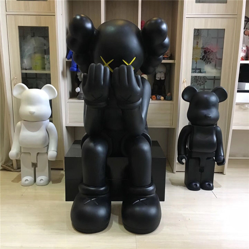1.06 m Medicom Toy Kaws En Passant par Ouvert Édition Vinyle Figure Compagnon 2018 Nouveau Dans la Boîte Scellée G1494