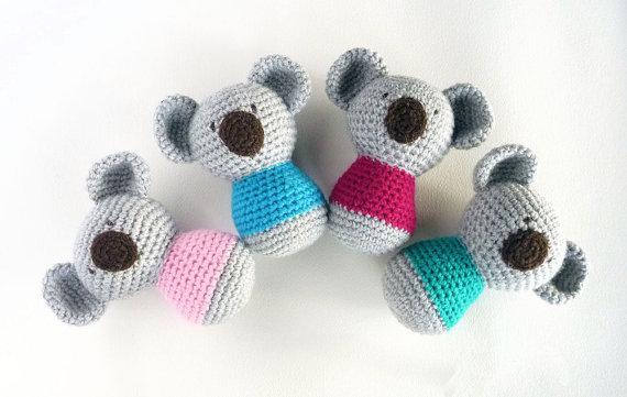 Crochet koala amigurumi pattern | Amiguroom Toys | 361x570