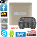 [Genuine] HM8 S905X Android 6.0 Caixa De TV 1G 8G Amlogic Quad core Suporte 4 K 3D Youtube Media Player Inteligente Wifi Mini PC Set Top Box