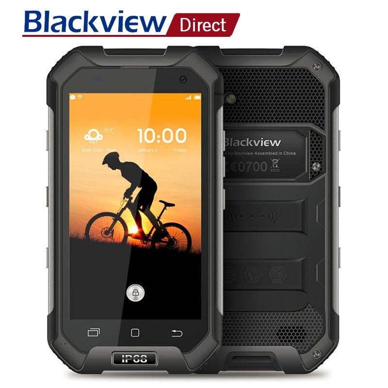 Blackview BV6000S IP68 Étanche Smartphone 4.7 ''HD MT6735 Quad Core Android 6.0 2 gb RAM 16 gb ROM 4g LTE 8 MPMobile Cellulaire Téléphone
