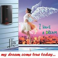 7500 W contínuo thermatast caldeira aquecedor de água quente instantânea para uso doméstico hotel chuveiro do banheiro torneira da pia multipontos