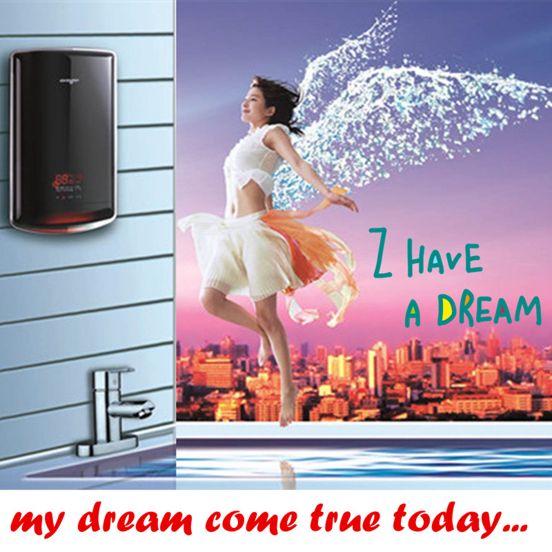 7500W Continuous Instantaneous Hot Thermatast Water Heater Boiler For Household Hotel Bathroom Shower Sink Faucet Multipoints