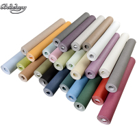 beibehang l non woven long fiber pure plain simple modern wallpaper living room bedroom TV background home decoration