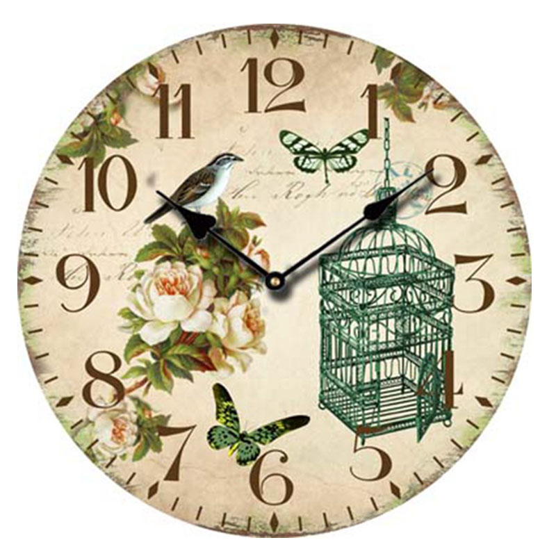 Online Get Cheap Large Wooden Clocks Aliexpresscom Alibaba Group
