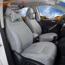 AutoDecorun Custom Fit Linen Fabric Cover Seats font b Car b font for Mercedes Benz GLE