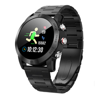 S10 Men Smart Watch IP68 Waterproof Watch Bluetooth 4.2 Wristwatch Heart Rate Monitoring Compass Sport bracelet for Android iOS